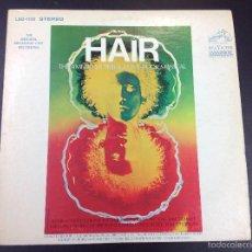 Discos de vinilo: HAIR- THE AMERICAN TRIBAL LOVE-ROCK MUSICAL. Lote 58687047