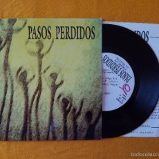 Discos de vinilo: PASOS PERDIDOS, 30 GRADOS (DIGITALS) SINGLE - ENCARTE - MOVIDA POWER POP MALLORCA. Lote 58687954