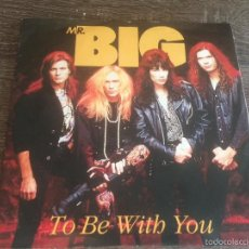 Disques de vinyle: MR BIG - TO BE WITH YOU 1991. Lote 58688577