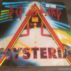 Disques de vinyle: DEF LEPPARD - HYSTERIA 1987. Lote 58688767