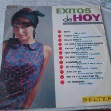 Discos de vinilo: EXITOS DE HOY: LOS 4 ROS, LOS ROCKING BOYS, CONCHITA VELASCO...(BELTER 1966). Lote 58692993