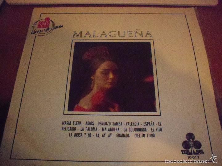 LP DE ARMANDO ZULUETA (GRAN ORQUESTA TIPICA). MALAGUÑA. EDICION TREBOL DE 1970. (Música - Discos - LP Vinilo - Orquestas)