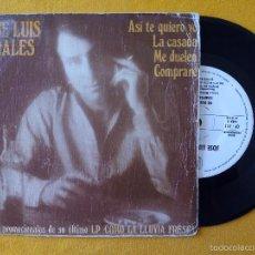 Discos de vinilo: JOSE LUIS PERALES, ASI TE QUIERO YO +3 (HPVX) SINGLE EP PROMOCIONAL - LA CASADA ME DUELEN COMPRARE. Lote 58714808