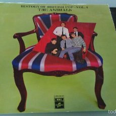 Discos de vinilo: HISTORY OF BRITISH POP VOL.4 LP THE ANIMALS. Lote 58720351