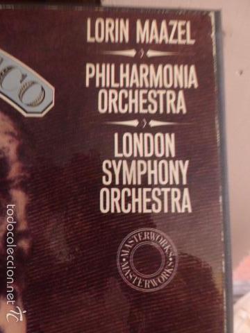 Discos de vinilo: CAJA CON TRES DISCOS Y LIBRETO DE PUCCINI IL TRITTICO 1978 - Foto 4 - 58724083