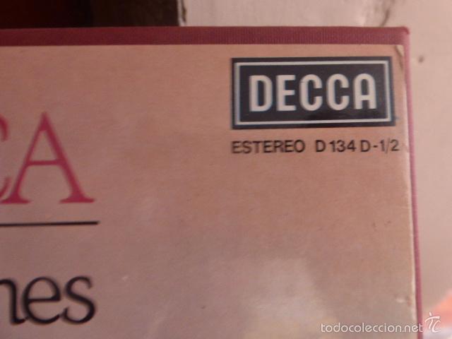 Discos de vinilo: CAJA CON 2 DISCOS Y LIBRETO. PUCCINI - TOSCA - Foto 3 - 58726443