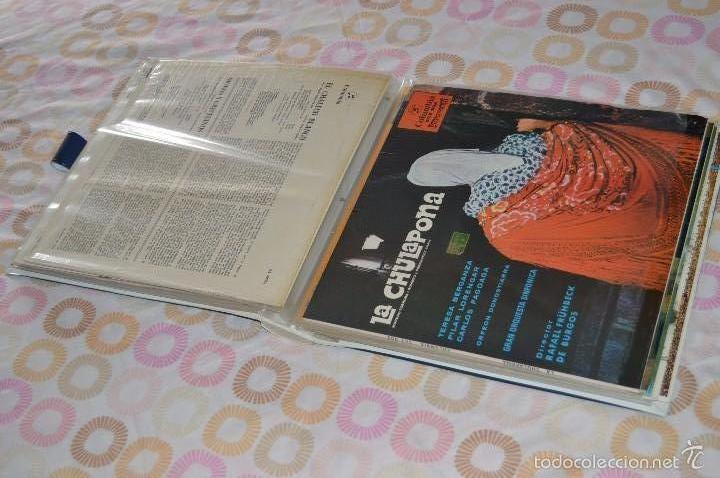 LOTAZO DE 12 LPS DE COLUMBIA - EN ESTADO PERFECTO, ZARZUELAS VARIADAS, MÍNIMO USO + REGALO ¡MIRA! (Música - Discos - LP Vinilo - Clásica, Ópera, Zarzuela y Marchas)
