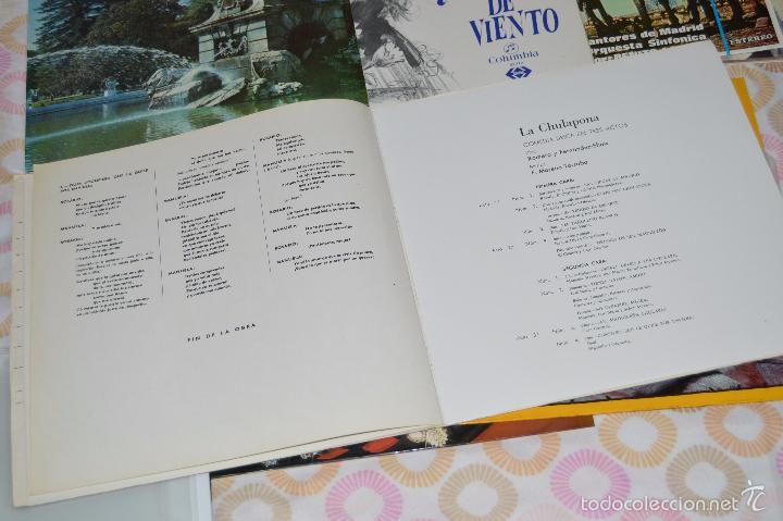 Discos de vinilo: Lotazo de 12 LPs de COLUMBIA - En estado PERFECTO, Zarzuelas variadas, mínimo uso + REGALO ¡Mira! - Foto 7 - 58726885