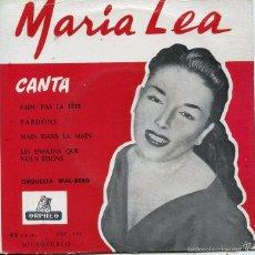 Discos de vinilo: MARIA LEA / PARDONS + 3 (EP EDITADO EN ESPAÑA). Lote 58732627