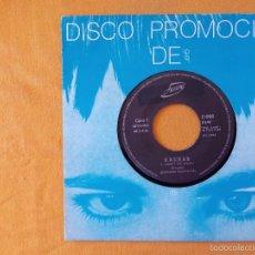 Discos de vinilo: EXCESS, DON'T GO AWAY (JUSTINE) SINGLE PROMOCIONAL ESPAÑA. Lote 58735056