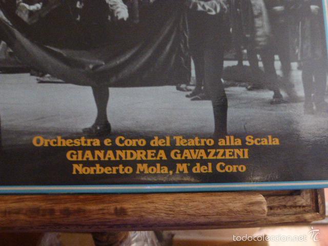 Discos de vinilo: CAJA CON 3 DISCOS Y LIBRETO. GAETANO DONIZETTI, ANNA BOLERA CON MARIA CALLAS Y OTROS ARTISTAS - Foto 3 - 58741716