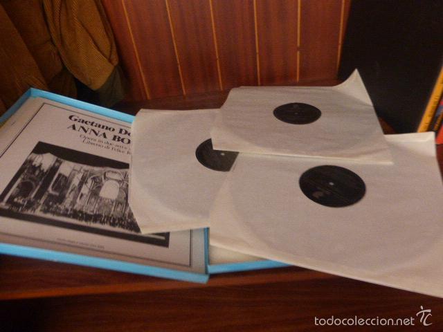 Discos de vinilo: CAJA CON 3 DISCOS Y LIBRETO. GAETANO DONIZETTI, ANNA BOLERA CON MARIA CALLAS Y OTROS ARTISTAS - Foto 6 - 58741716