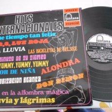 Discos de vinilo: LP HITS INTERNACIONALES-VARIOS-ESPAÑOL 1969-NUEVO. Lote 58743802