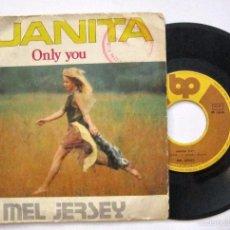 Discos de vinilo: VINILO EP SINGLE MEL JERSEY ''JUANITA''. Lote 58747616