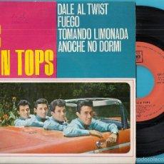 Dischi in vinile: TEEN TOPS, LOS: DALE AL TWIST / FUEGO / TOMANDO LIMONADA / ANOCHE NO DORMÍ. Lote 58753101