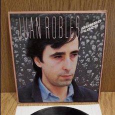 Discos de vinilo: JUAN ROBLES. MUNDO LOCO. SINGLE-PROMO / WEA - 1983 / CALIDAD LUJO. ****/****. Lote 58785691