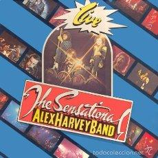 Discos de vinilo: LP SENSATIONAL ALEX HARVEY BAND - LIVE . Lote 58788041