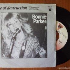 Discos de vinilo: BONNIE PARKER, EVE OF DESTRUCTION (VICTORIA) SINGLE ESPAÑA. Lote 58792986