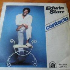 Discos de vinilo: EDWIN STARR - CONTACTO / DON'T WASTE YOUR TIME -. Lote 58802491