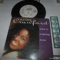 Discos de vinilo: RANDY CRAWFORD WHOS CRYING NOW. Lote 58810851