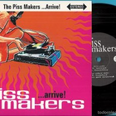 Discos de vinilo: PISS MAKERS, THE: THE PISS MAKERS... ARRIVE: VOICES / INSANITY / LOADED / YOU GET AROUND. Lote 233963125