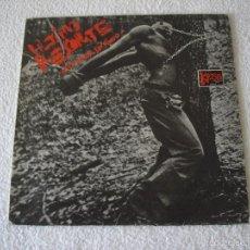 Discos de vinilo: ULTIMO RESORTE: UNA CAUSA SIN FONDO - LP. FLOR Y NATA RECORDS 1983------MUY RARO. Lote 58826986