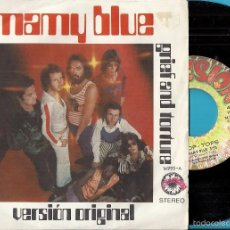 Discos de vinilo: POP TOPS: MAMY BLUE / GRIEF AND FORTUNE. Lote 58838256
