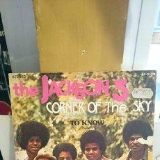 Discos de vinilo: THE JACKSON 5 / CORNER OF THE SKY / EDICION ESPAÑOLA / TAMLA MOTOWN 1972. Lote 58853841