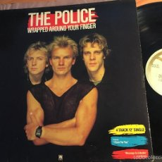 Discos de vinilo: THE POLICE (WRAPPED AROUND YOUR FINGER) MAXI ESPAÑA 1983 (VINH). Lote 58864001