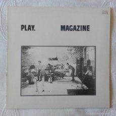 Discos de vinilo: MAGAZINE, PLAY (VIRGIN) LP ALEMANIA. Lote 58869831