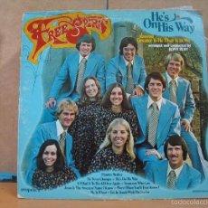 Discos de vinilo: FREE SPIRIT - HE'S ON HIS WAY - IMPACT R3340 - 1974 - EDICION CANADIENSE. Lote 58870296