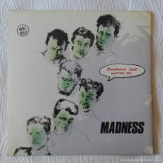 Discos de vinilo: MADNESS, TOMORROW'S JUST ANOTHER DAY (STIFF VICTORIA) MAXI SINGLE PROMOCIONAL ESPAÑA. Lote 58870441