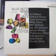 Discos de vinilo: LP BLUE NOTE GEMS OF JAZZ, EDICIÓN LIMITADA, AÑO 1967, ART BLAKEY, MILES DAVIS, MONK Y OTROS. Lote 58879666
