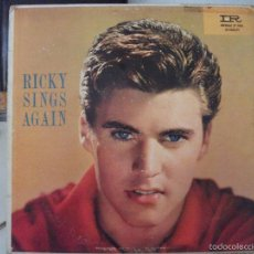 Discos de vinilo: LP DE RICKY NELSON, RICKY SINGS AGAIN (EDICIÓN ORIGINAL USA DE 1959, LP 9061. Lote 58881026