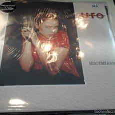 Discos de vinilo: MUSICA LP HEAVY UFO MISDEMEANOR DOBLE DISCO COLOR EDICION COLECCIONISTA EXTRAS PRECINTADO NEW JOYA. Lote 58904120