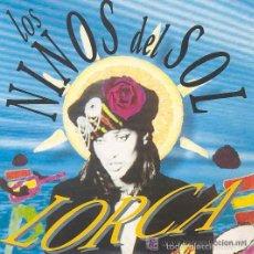 Discos de vinilo: LOS NINOS DEL SOL - LORCA - 12' MAX MUSIC 1991. Lote 58911775