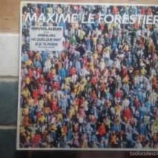 Discos de vinilo: MAXIME LE FORESTIER. Lote 58914010