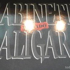 Discos de vinilo: MUSICA LP GABINETE CALIGARI PRIVADO OA . Lote 58932520