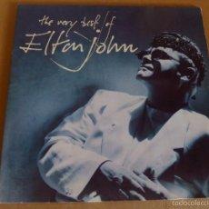 Discos de vinilo: ELTON JOHN - THE VERY BEST OF ELTON JOHN (DOBLE LP). Lote 58940980