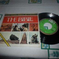 Discos de vinilo: BANDA SONORA ORGINAL DE LA PELICULA THE BIBLE. Lote 58941325