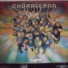 Discos de vinilo: LP DE CHORALERNA, POWER (TEMAS RELIGIOSOS). EDICION SIGNATUR DE 1973 (SUECIA). Lote 58949040