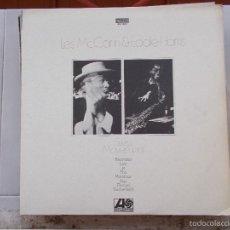 Discos de vinil: LES MCCANN & EDDIE HARRIS - SWISS MOVEMENT - LP - 1967. Lote 58952250