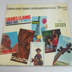 Discos de vinilo: LP. LUGARES LEJANOS. ENOCH LIGHT Y SU ORQUESTA. COMMAND RECORDS. HISPAVOX, MADRID.. Lote 58978150