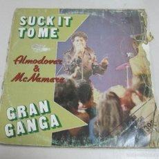 Discos de vinilo: LP. SUCK IT TO ME. ALMODOVAR & MCNAMARA. GRAN GANGA. 1982. DISCOS VICTORIA. Lote 58980390