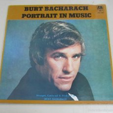 Discos de vinilo: LP. BURT BACHARACH. PORTRAIT IN MUSIC. A&M RECORDS, LONDRES.. Lote 58981890
