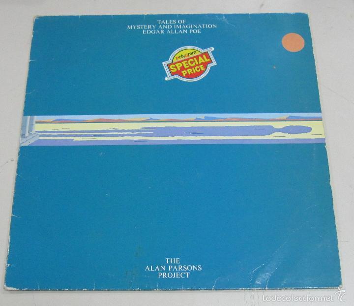 LP. TALES OF MYSTERY AND IMAGINATION. EDGAR ALLAN POE. THE ALAN PARSONS PROJECT. 1976 (Música - Discos - LP Vinilo - Pop - Rock Extranjero de los 90 a la actualidad)