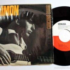 Discos de vinilo: RAIMON CANÇONS D'AMOR, EDIGSA C.M.93 + LETRAS DE CANCIONES, 1965. Lote 59028875