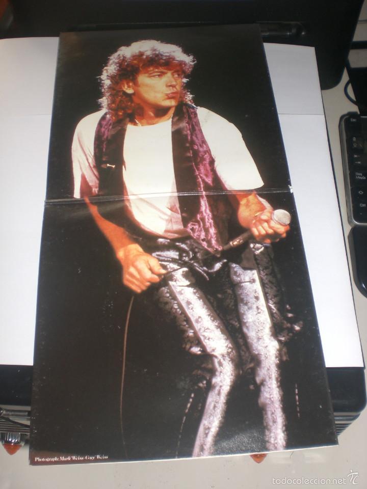 Discos de vinilo: 2 SINGLE ROBERT PLANT - LITTLE BY LITTLE - ES PARANZA RECORDS UK 1985 VG+ GATEFOLD - Foto 2 - 59031645