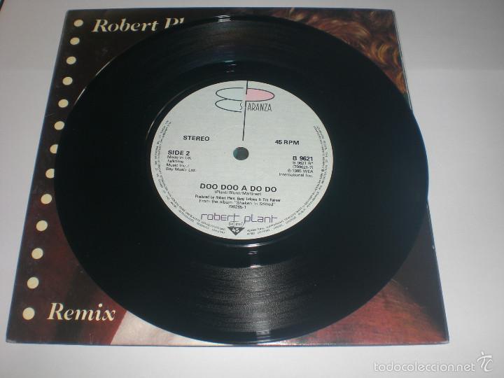 Discos de vinilo: 2 SINGLE ROBERT PLANT - LITTLE BY LITTLE - ES PARANZA RECORDS UK 1985 VG+ GATEFOLD - Foto 4 - 59031645
