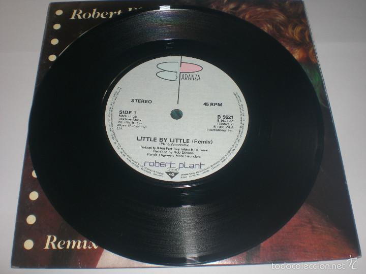 Discos de vinilo: 2 SINGLE ROBERT PLANT - LITTLE BY LITTLE - ES PARANZA RECORDS UK 1985 VG+ GATEFOLD - Foto 5 - 59031645